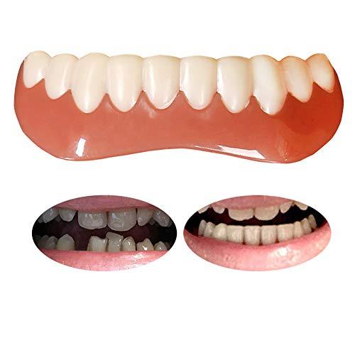 Tacohan Zahnersatz Unterkiefer Dental Provisorischer Zahnprothese Unterkiefer Kosmetische Zähne Prothese, Natürlich Bequeme Kosmetisches Zahnfurnier Für ein perfektes Lächeln