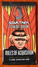 Star Trek CCG - Rules of Acquisition Limited Booster Pack