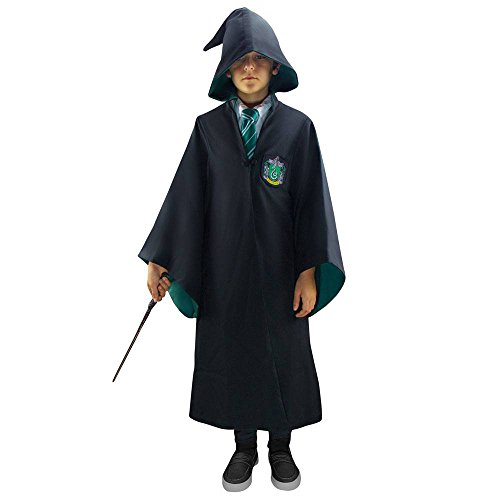 Cinereplicas Harry Potter - Hogwarts Robe Slytherin - XL - Official License