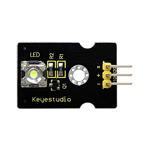 H HILABEE Keyestudio Piranha LED Modul 5V Arduino Raspberry Pi PWM Flux Workshops - rot