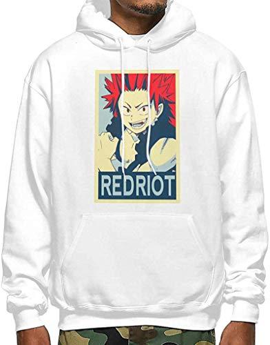 AiChao My Hero Academia Boku No Hero Kirishima Eijiro Red Riot Men's Sweater Hoody Pullover