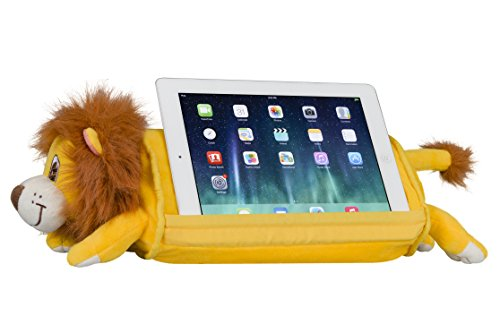 LapGear Lap Pets Tablet Pillow Stand - Lion - Fits Most Tablet Devices - Style No. 36119