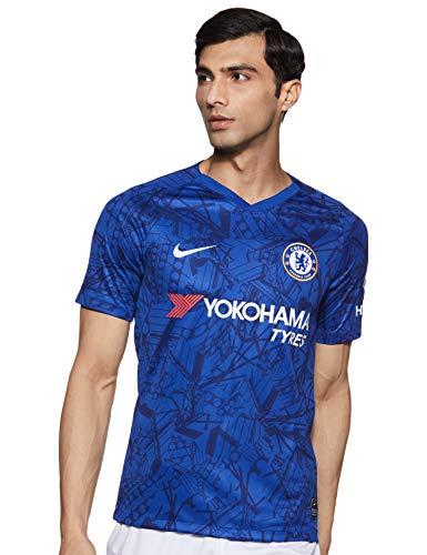 Nike Herren CFC M NK BRT STAD JSY SS HM T-Shirt, Rush Blue/White, 2XL