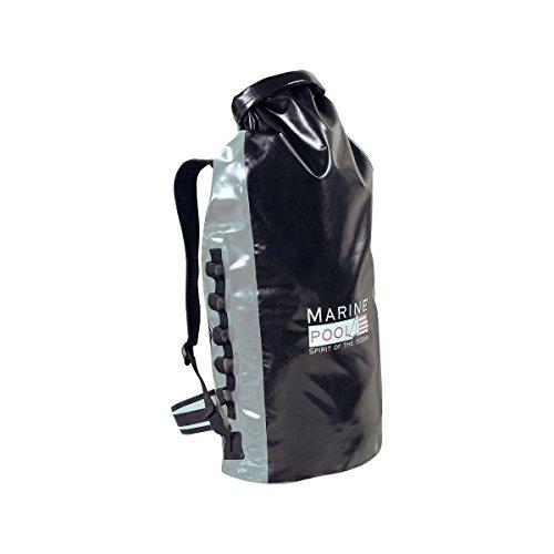 Marinepool Drybag 8 Backpack Segelrucksack 62l schwarz/grau