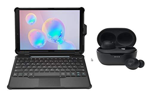 Home Office - Funda para Teclado Samsung Tab S6 Lite (Incluye Auriculares JBL Tune TWS 115)