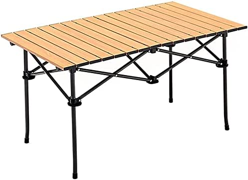 JONJUMP Camping Deluxe Table with Storage Travel Manufacturer direct delivery T Folding Lightweight