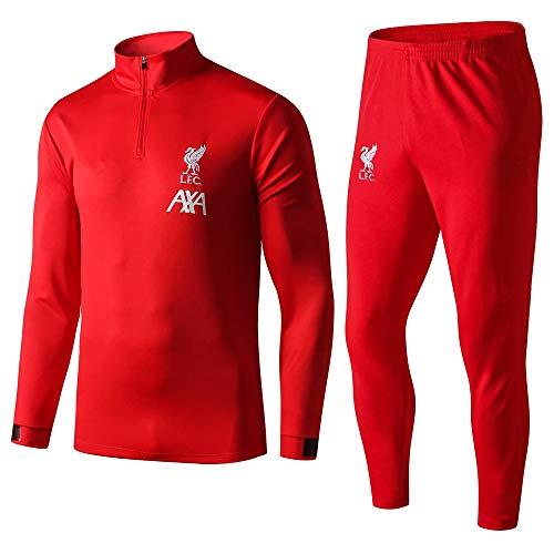 XunZhiYuan Liverpool Fußballtrainingsanzug mit Langen Ärmeln Anzug für Sportbekleidung für Erwachsene Jersey @ 2_M