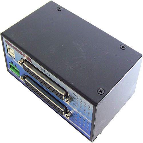 BeMatik - Adaptador USB a RS-232 Titan 16-Port (AM/16xDB9M 2x8 puertos)