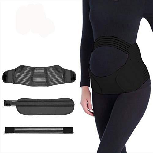 Review Of Maternity Belt, Abdominal Binder Adjustable Strap, Breathable Pregnancy Support Belt, Elas...