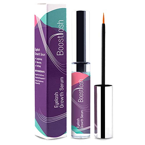 BoostLash Eyelash Growth Serum 7.5 ML Gives You Longer Thicker Fuller & 3X Healthier Lashes (in 30 days), Proudly Made in USA. Premium Quality Ingredients Using Grape Stem Cell