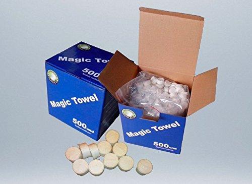 Magic towell, toallita comprimida