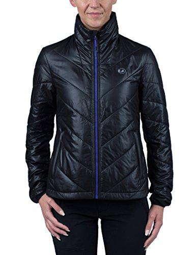 Ultrasport Advanced Chaqueta Lorma para mujer, chaqueta para todo el año, Negro/Púrpura, XL