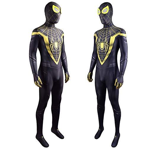 NVHAIM Nios para Adultos Spandex/Lycra Imprimir 3D Disfraz de Spiderman, Body Spiderman Body Girl Boys Ropa Cumpleaos Spider-Verso Mascarada Disfraces Disfraces Escenario de pelicula,Women S