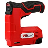 TOOLCY Compact Cordless Staple Gun, Rechargeable Battery with Universal...
