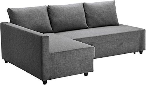 Cubierta / Funda solamente! ¡El sofá no está incluido! Heavy Duty algodón Gris Claro friheten sofá Funda de es Fabricada a Medida para IKEA friheten Esquina sofá Cama con Chaise seccional
