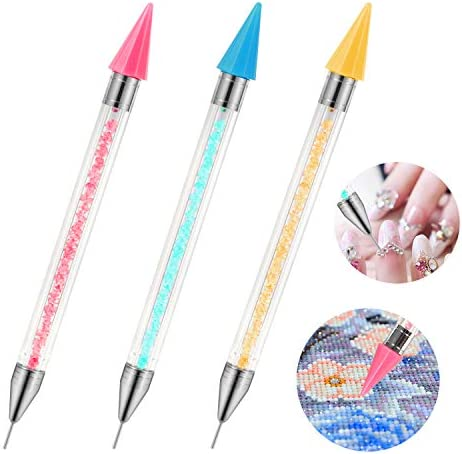 ORNOOU 3 Pcs Diamond Painting Tool Accessory Self Stick Drill Pen NO Wax Needed NO Clay Needed product image