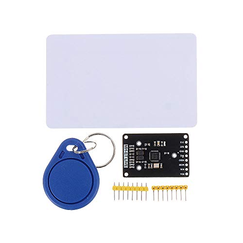 Sensor & Detektor-Modul RC522 Mini S50 13,56 MHz 6 cm mit Tags SPI Schreiben & Lesen für Arduino – Produkte, die mit offiziellen Arduino-Boards funktionieren, 3 Stück