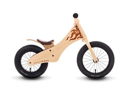 Early Rider Ltd Classic Bicicleta de Equilibrio, Aluminio Cepillado, 12/14 Wheel