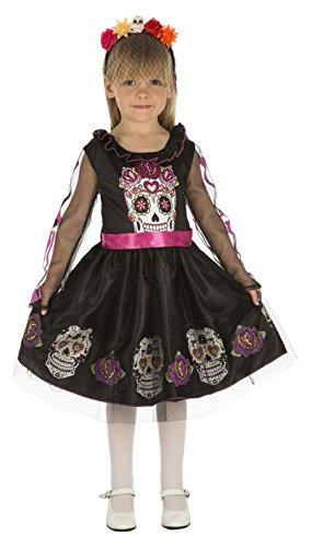 My Other Me Me-204033 Disfraz de calaverita para niña, 5-6 años (Viving Costumes 204033)