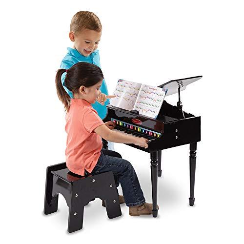 Melissa & Doug- Learn to Play Pianoforte A Coda, Multicolore, 11315