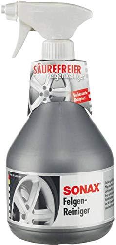 SONAX Felgenreiniger (1 Liter) säurefrei für Leichtmetallfelgen & Stahlfelgen, entfernt schnell und einfach Verschmutzungen durch Bremsstaub und Straßenschmutz | Art-Nr. 04303410
