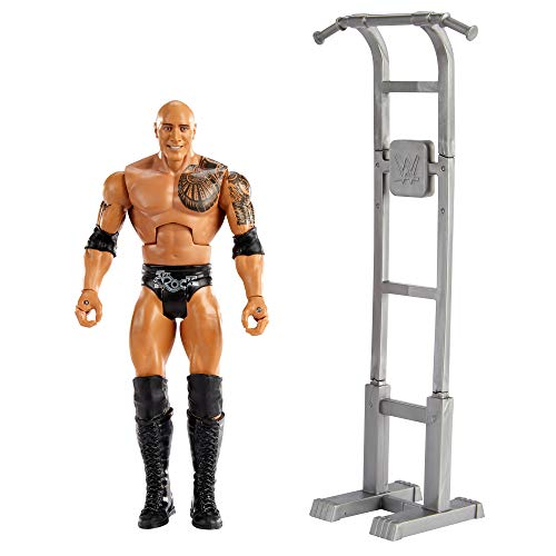 WWE Wrekkin The Rock Action Figure