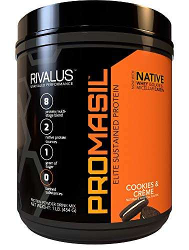 Rivalus Promasil Cookies and Crème (8 Source) 1Lb