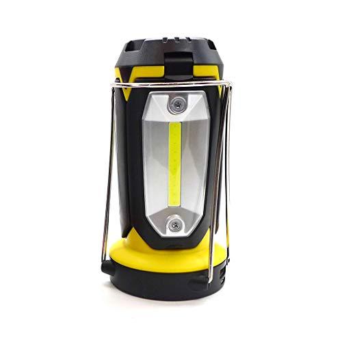 Hergon COB Work Linterna de trabajo, senderismo, ventilador de emergencia, luz recargable por USB, 2 #