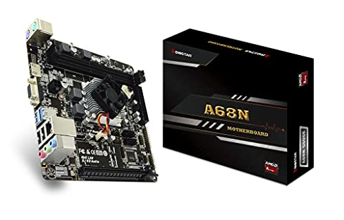 Placa Base Biostar A68N-5600E con procesador AMD Pro A4-3350B (1,0 GHz) Mini ITX