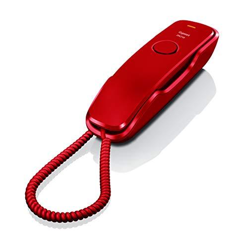 Gigaset DA210 Telefono Fisso, Rosso
