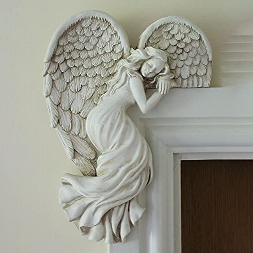 JZENZERO Simple Angel Ornament with sold out Res Retro Heart-Shaped Wings Popularity