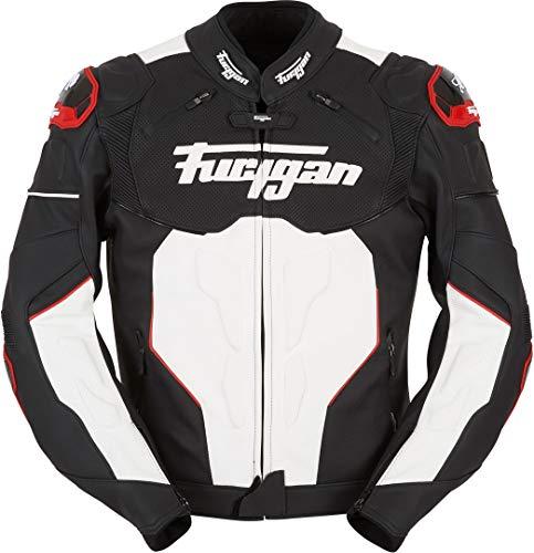 Furygan Raptor Herrenhose L Schwarz / Weiß / Rot