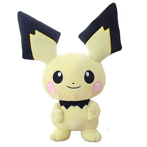 siqiwl Peluche 40cm Detective Pikachu Plush Toy Cute Anime Plush Doll Kids Gift Toy Niños Dibujos Animados Peluche Pikachu Japón Anime Game Toy