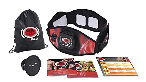 Gymform Best Direct ABS-a-Round ABS Elettrostimolatore Muscolare EMS Muscolo Addominale Addominali Attrezzi ABS Addome/Braccio/Gambe/Fianchi/Glutei Massaggi-Attrezzi