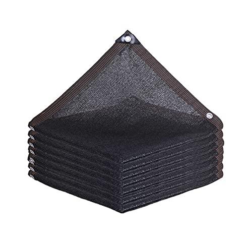 Malla Sombreadora Resistente Red de Sombreo Negro,Sombra Paño Transpirable,para Flores Caseras,Patio,Balcón Tamaño Personalizable,6 * 8