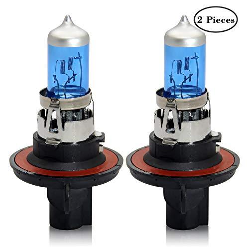 Winpower H13 / 9008 / P26.4t Halogen Scheinwerferlampen 100W/ 90W 5000K Warmweiß Fernlicht/Abblendlicht Lampe 12V Auto Birne, 2 Stücke