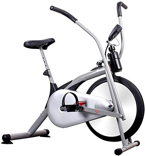 Nfudishpu Exercise Bike Recumbent Spin Cycling Bike Indoor Cycle Stationary Workout Equipment with Pulse W/LCD Display and Adjustable Foot for Home Office