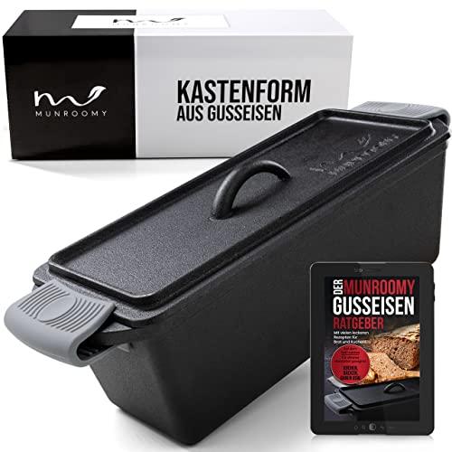 MUNROOMY Gusseisen Brotbackform mit...