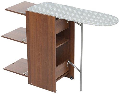 Foppapedretti yhome Stir8 - Mueble de Planchar, Color Nogal Americano