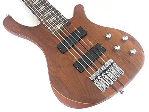 ABMBERTK professionelle 6-saitige aktive E-Gitarre Hals durch Body Bass Gitarre, 6-saitig, 43 Zoll