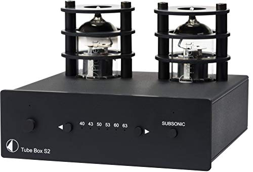 Pro-Ject Tube Box S2 Phono Preamplifier - Black