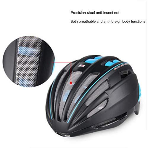 Mountain Bike Helmet, Bike fietshelm met Bevestigbare Afneembare Magnetic zonneklep Shield Mountain Bike Helm voor volwassen mannen Vrouwen