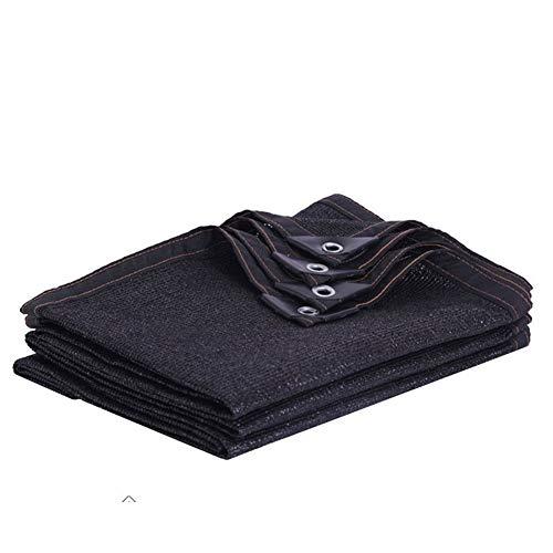LDFZ 60% -80% Sonnenschutz Schatten Tuch,schwarzes UV-Schutznetz Schattierungsnetz, geeignet für Gewächshaus/Garten/Terrasse/Stall/Zwinger/Pergola oder Carport, 6 Nadel / 8 Nadel