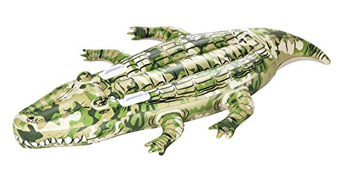 Bestway Camo Crocodile Rider 175x102 cm, Schwimmtier