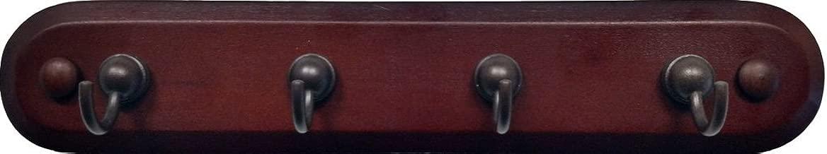 wooden key hook rack