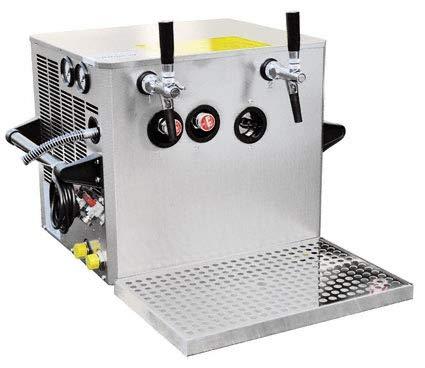 Verwendungsfertige Zapfanlage 2 leitig, 100 Liter/h Nennweite 7 mm