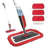 Fixget Spray Mop, Microfibra Spray Mop con Spruzzatore d'Acqua, Spray...