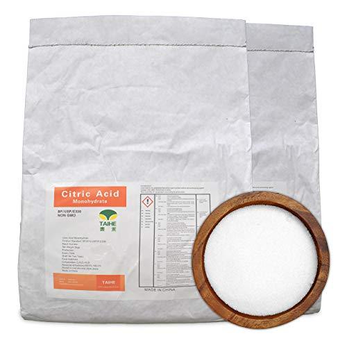 10 kg Zitronensäure in Gries/Pulver - Monohydrat - Lebensmittelqualität E330 - Entkalker, Reiniger - Citronensäure Pulver, 100% rein