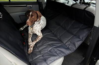 Emanuele Bianchi Design Petego Hammock Car Seat Pet Protector, Black