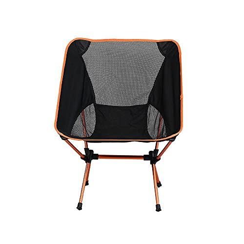 N\C Outdoor pieghevole sedia,sedia da campeggio portatile ultraleggero pieghevole sedie,si applica a casa ufficio pesca campeggio barbecue giardino escursionismo